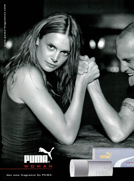 2005 PUMA Woman fragrance Spain