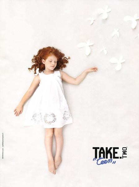 2012 TAKE TEEN children's wear Italy (Vanity Fair)