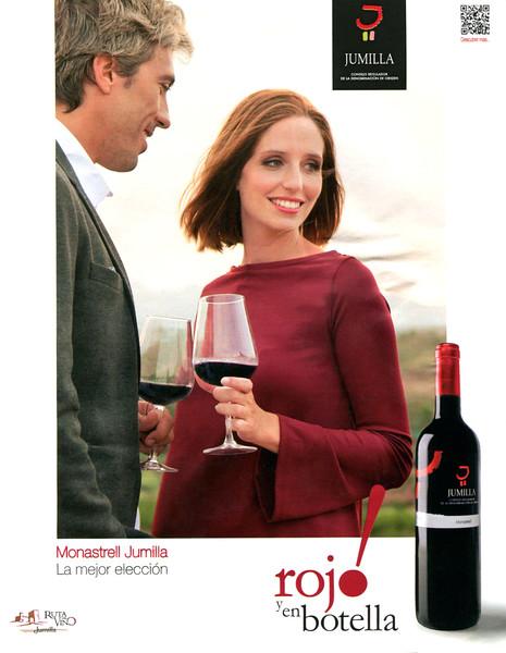 2015 JUMILLA Monastrell red wine Spain (El País Semanal)