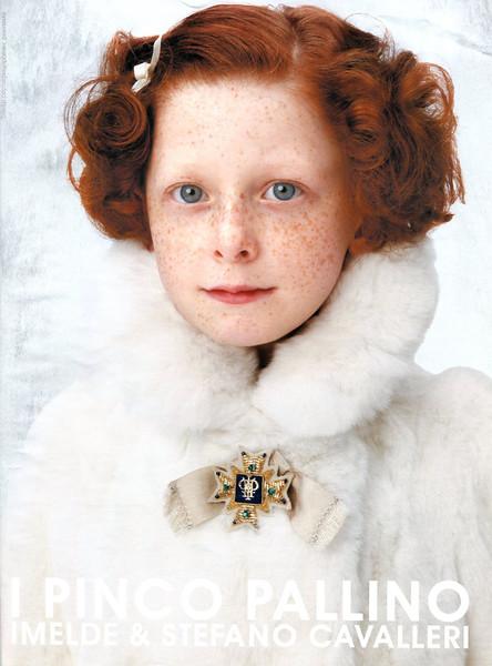 2009 I PINCO PALLINO children's wear Russia (Vogue)