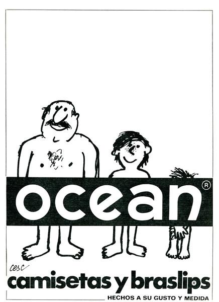 1970 OCEAN underwear Spain (Blanco y Negro)