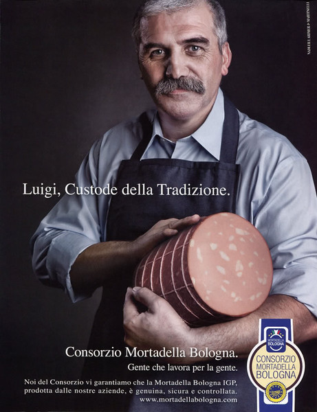 2009 MORTADELA BOLOGNA sausage Italy (A)
