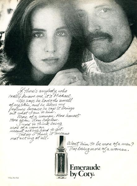 1974 COTY Emeraude fragrance US