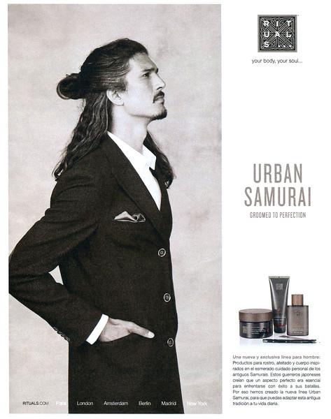 2014 RITUALS Samurai toiletries Spain