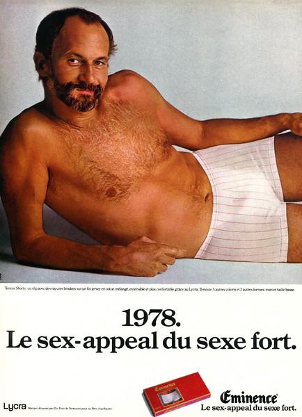 1978 ÉMINENCE men's underwear France (100 Idées)