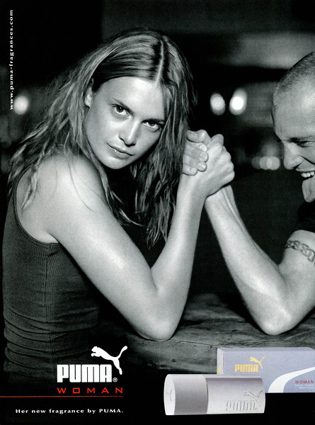 2005 PUMA Woman fragrance Spain