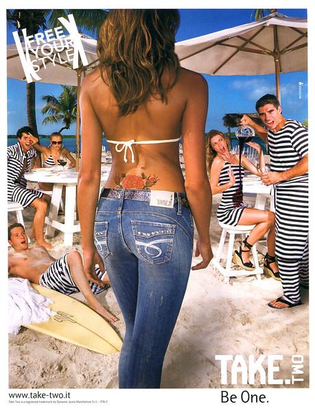 2008 TAKE TWO denim Italy (Elle)