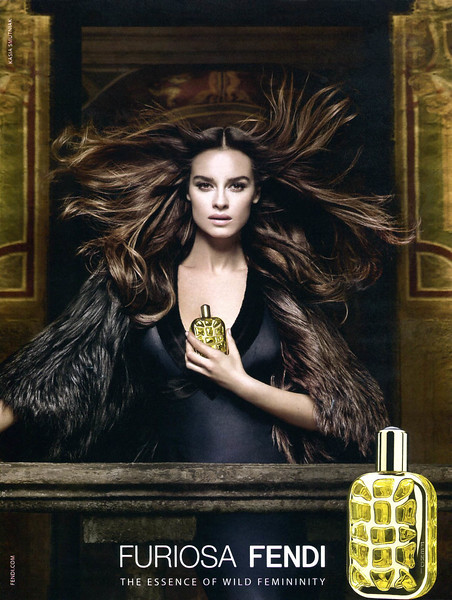 2014 FENDI Furiosa fragrance Italy