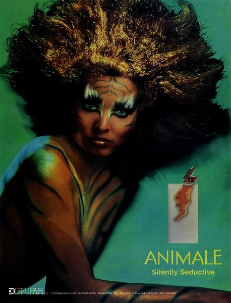PARLUX Animale fragrance 1993 Argentina