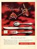1956 INTERNATIONAL STERLING Rhapsody cutlery Canada (Chatelain)
