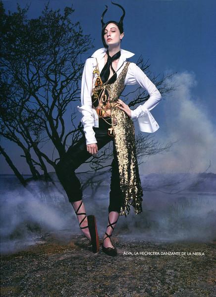 2002 ABSOLUT Legends - Gaultier Spain (Vogue) page 5 (Alva)