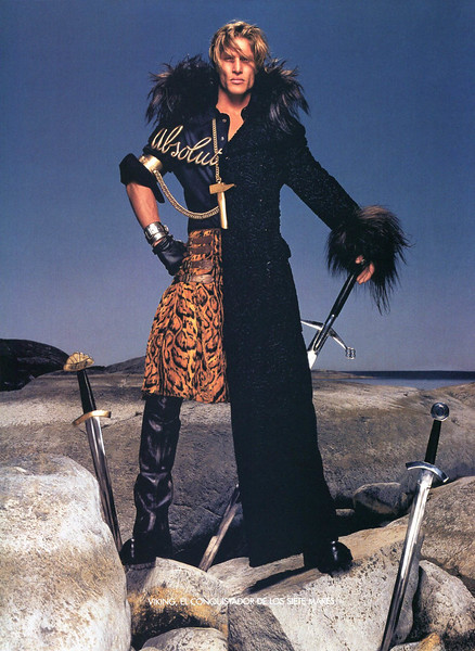 2002 ABSOLUT Legends - Gaultier Spain  (Vogue) page 6 (Viking)