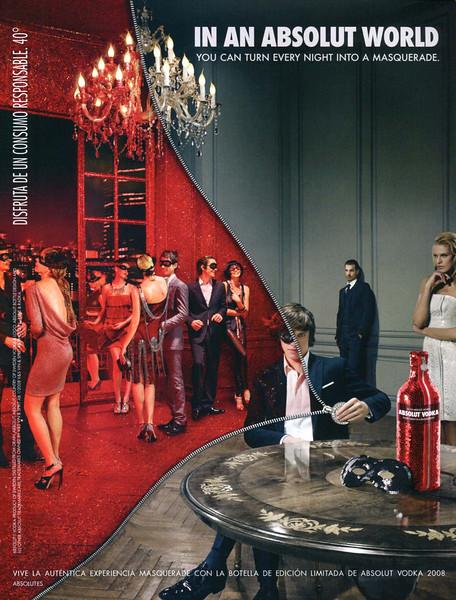 2013 ABSOLUT vodka Spain (Vogue)