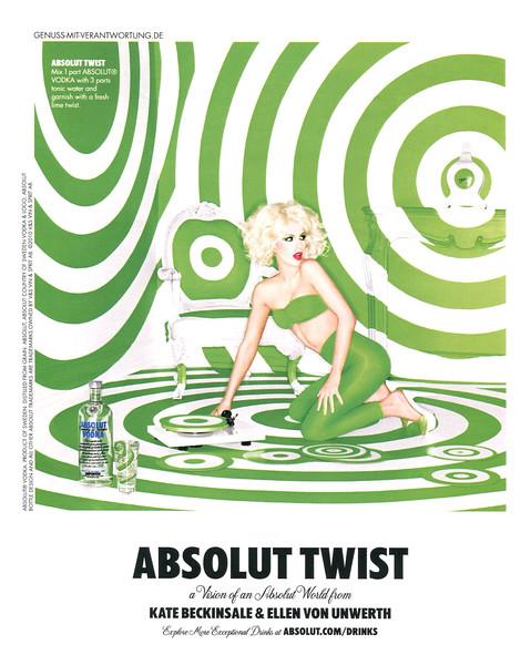 2011 ABSOLUT Twist vodka Germany (In Style)