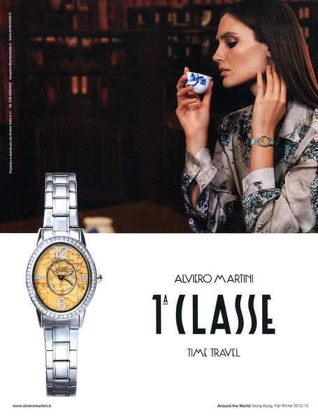 2012 ALVIERO MARTINI watches Italy (Marie Claire)