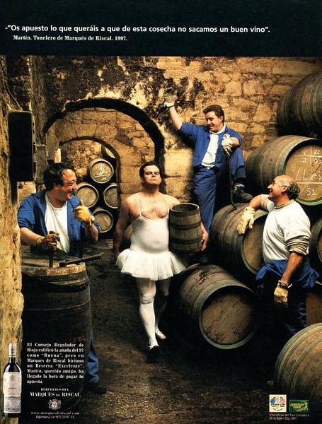 2001 RIOJA wines Spain (El País Semanal)