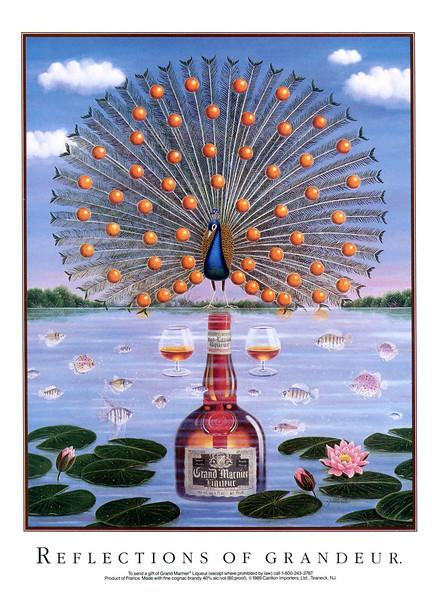 1992 GRAND MARNIER liquor US (Vogue)