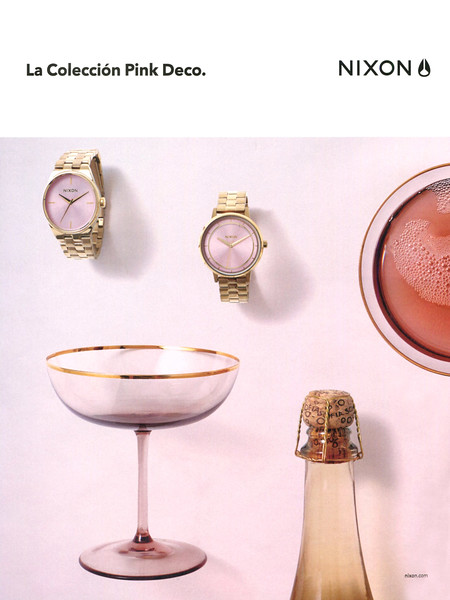 2016 NIXON Pink Deco Watches: Spain (Elle)
