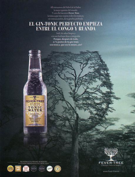 2013 FEVER-TREE Tonic Water Spain (El País Semanal) plants drinks
