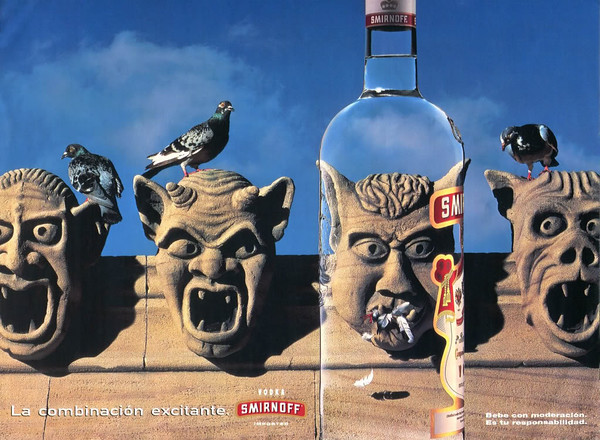 1996 SMIRNOFF vodka Spain (Dominical)