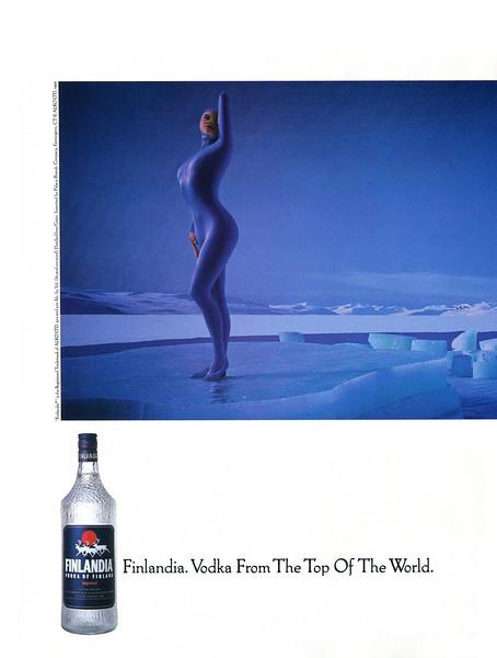 1993 FINLANDIA vodka US
