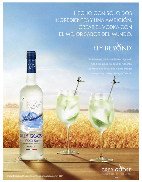 2016 GREY GOOSE vodka Spain (Vogue)