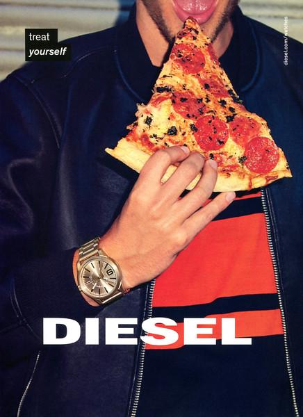 2016 DIESEL clothing & wristwatch Spain (DT)