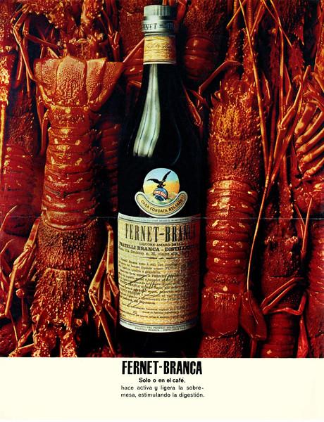 1970 FERNET Branca liquor Spain