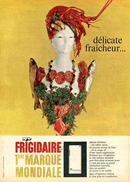 1961 FRIGIDAIRE fridges France (Marie Claire)