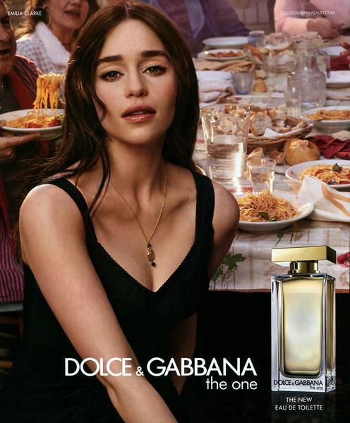 2017 DOLCE & GABBANA The One Eau de Toilette: Spain (Harper's Bazaar)