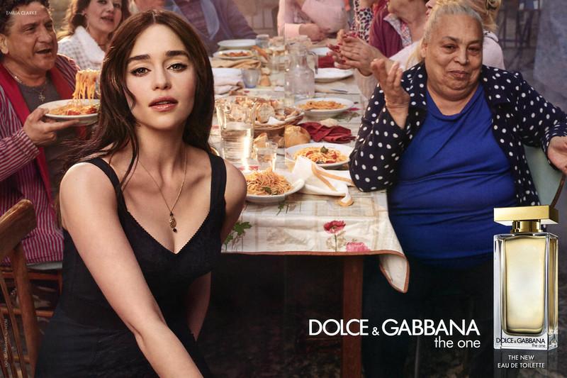 2017 DOLCE & GABBANA The One Eau de Toilette: Spain (spread Vogue)