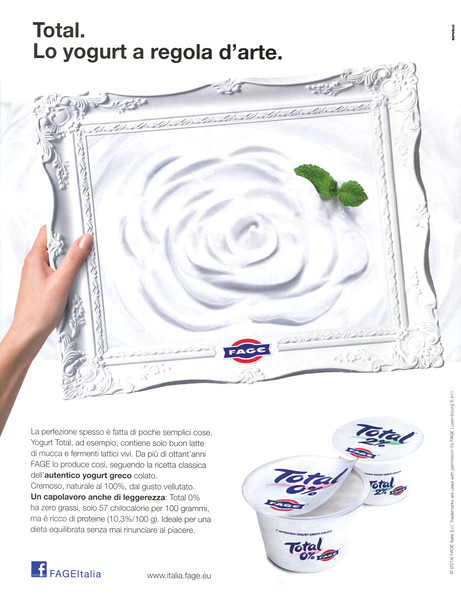 2014 FAGE Total yoghourt Italy (Gioia)