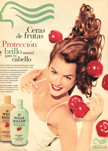 1998 WELLA Balsam hair care Spain (Qué Me Dices!)