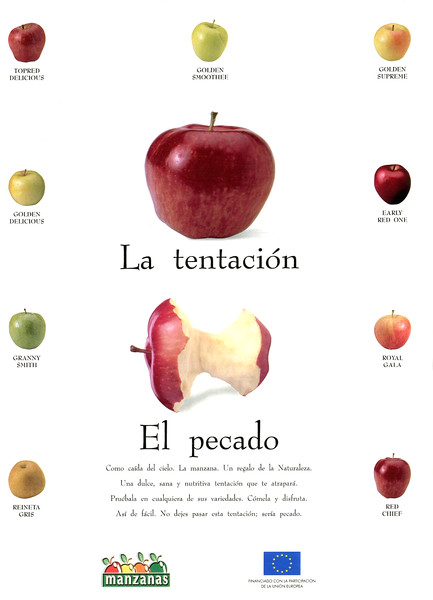 1998 MANZANAS apples Spain (Hola)