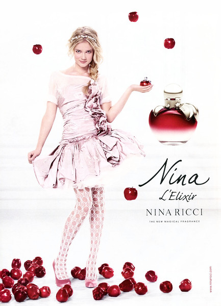 2010 NINA RICCI  L'Elixir fragrance UK