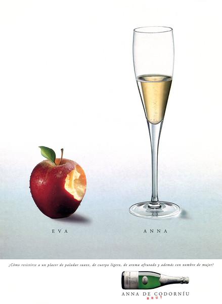 1994 CODORNIU champagne Spain (El Paía Semanal)