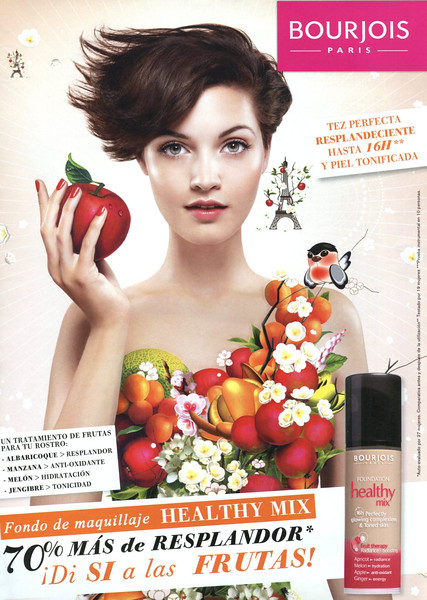 2010  BOURJOIS Beauty Mix foundation make up: Spain (News Fragancias)