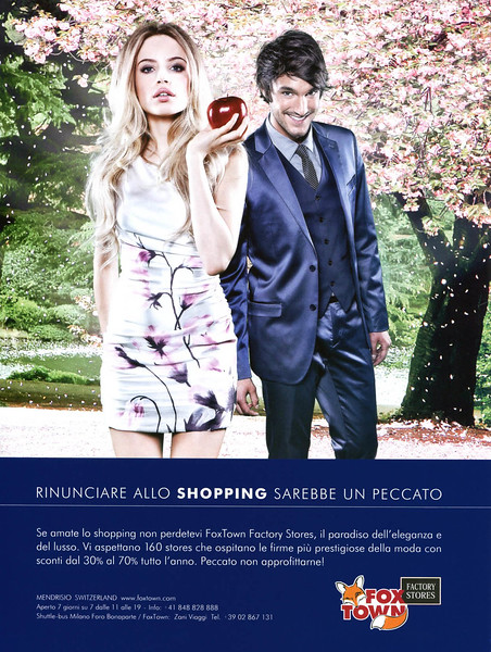 2011 FOX TOWN factory stores Italy (Elle)