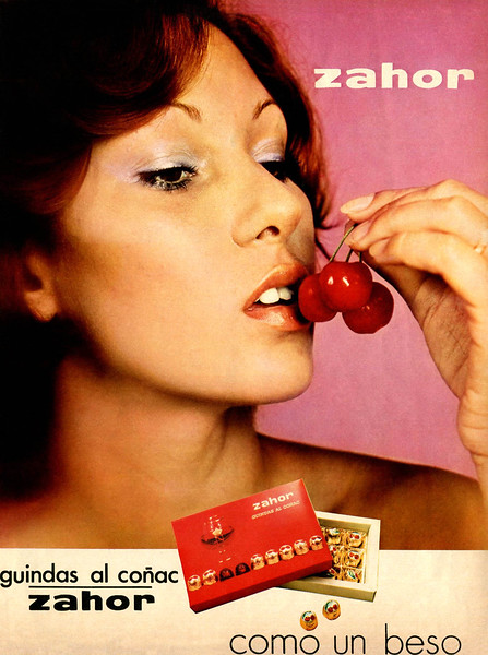 1975 ZAHOR chocolates: Spain (Telva)