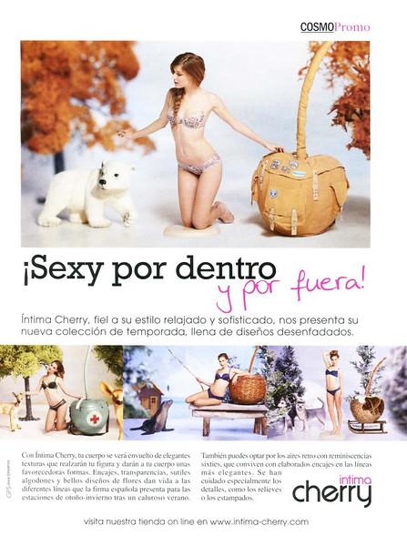 2011 INTIMA CHERRYlingerie Spain (Cosmopolitan)