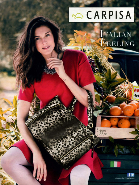 2014 CARPISA handbags Italy (Grazia) 'Italian feeling'