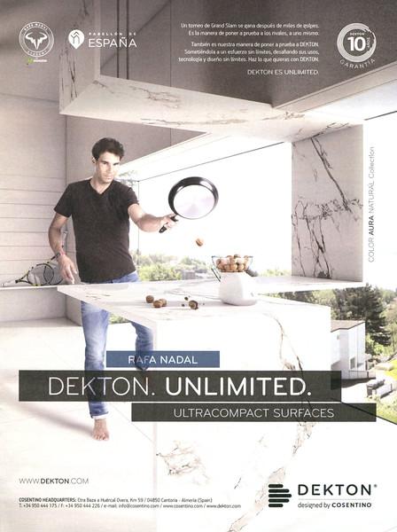 2015 DEKTON kitchen surfaces Spain (La Vanguardia Magazine)