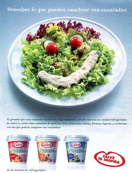 2008 CALVÉ mayonnaise Spain (El País Semanal)