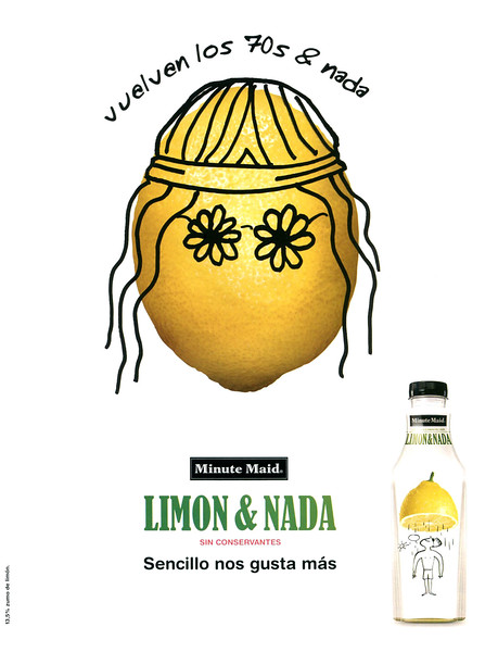2008 MINUTE MAID juices Spain (Vogue)