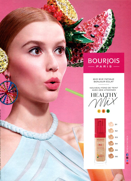 2017 BOURJOIS make up foundation: France (Cosmopoitan)