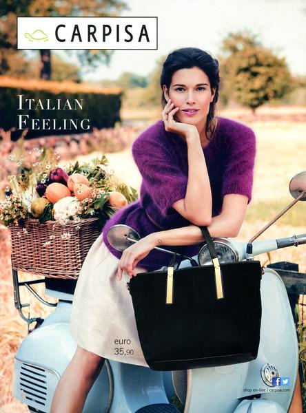 2014 CARPISA handbags Italy (Glamour)