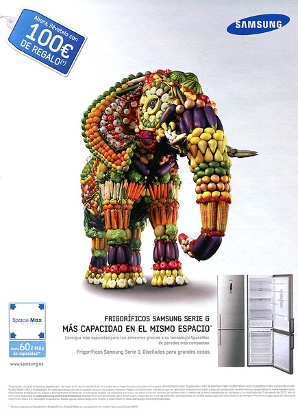 2012 SAMSUNG fridges Spain (SModa)