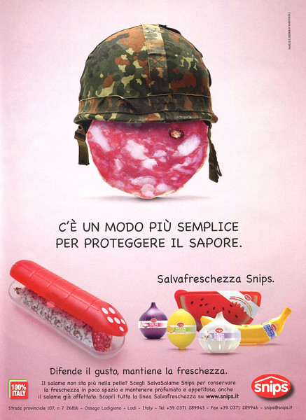 2012 SNIPS food containers Italy (Gioia)