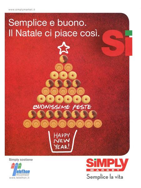 2012 SIMPLY MARKET supermarkets Italy (Vanity Fair mag)