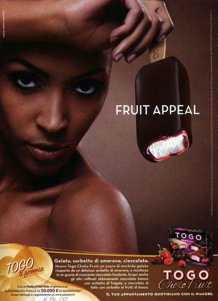2010 TOGO fruit appeal ice cream: Italy